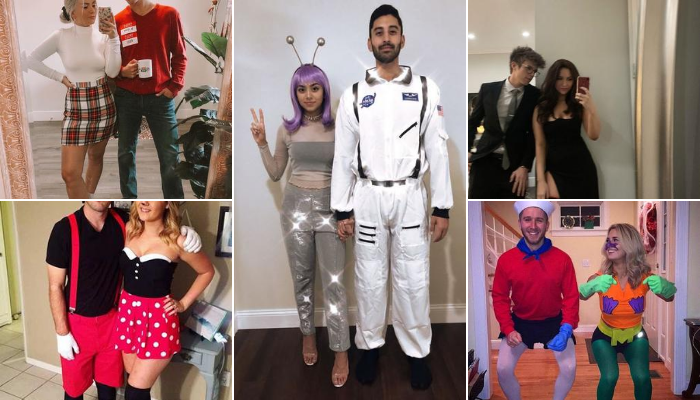 2020's Hottest Couple Halloween Costumes Ideas: 36 Easy Couple Halloween Costumes