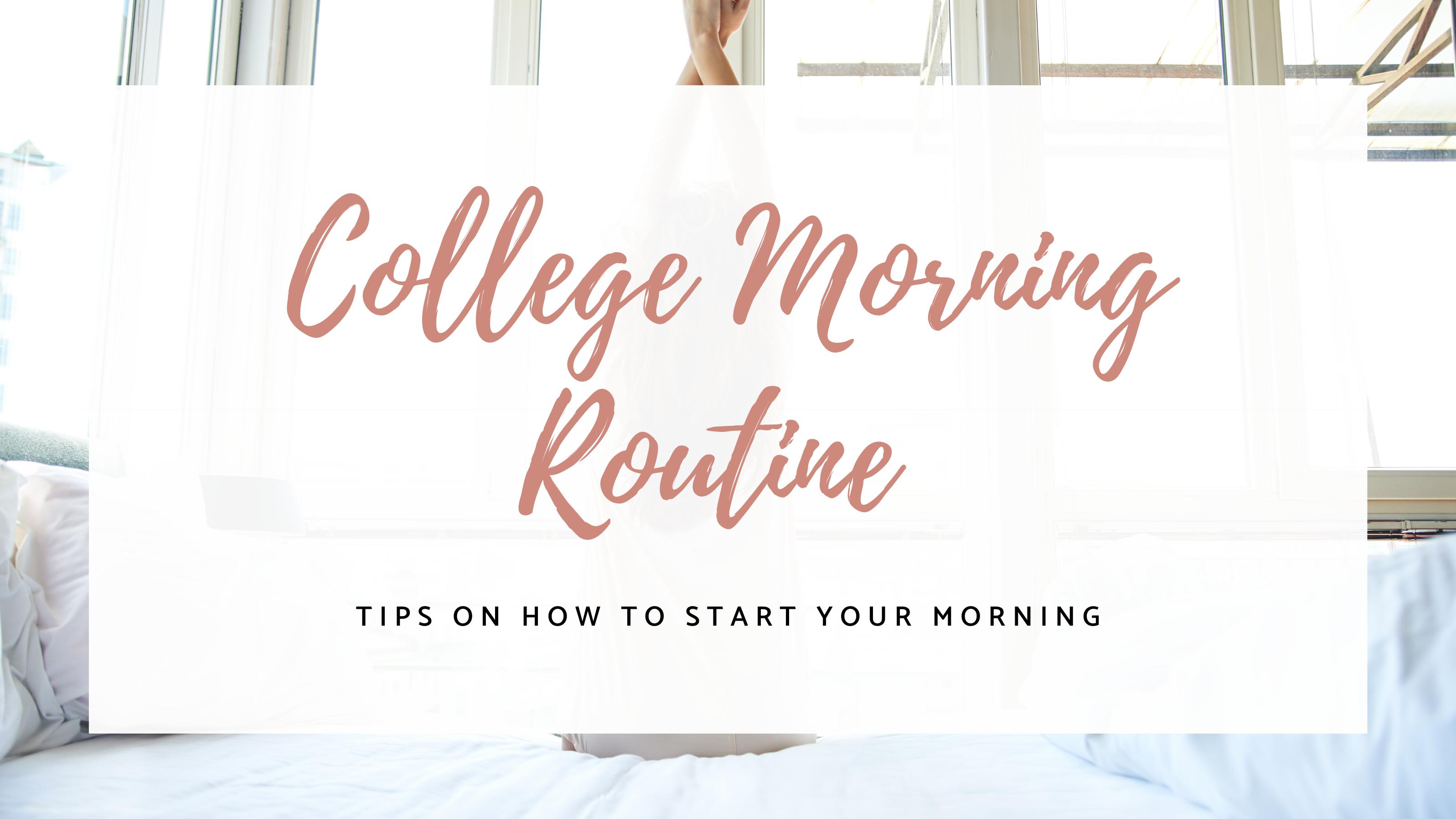 college routine