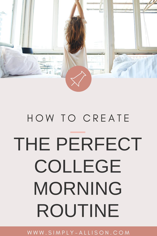 How to establish morning routine