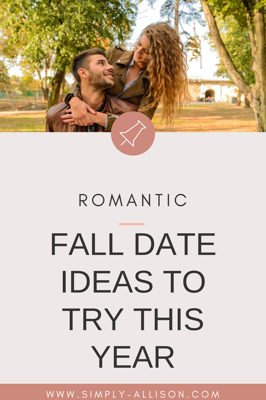 2020 fall date ideas