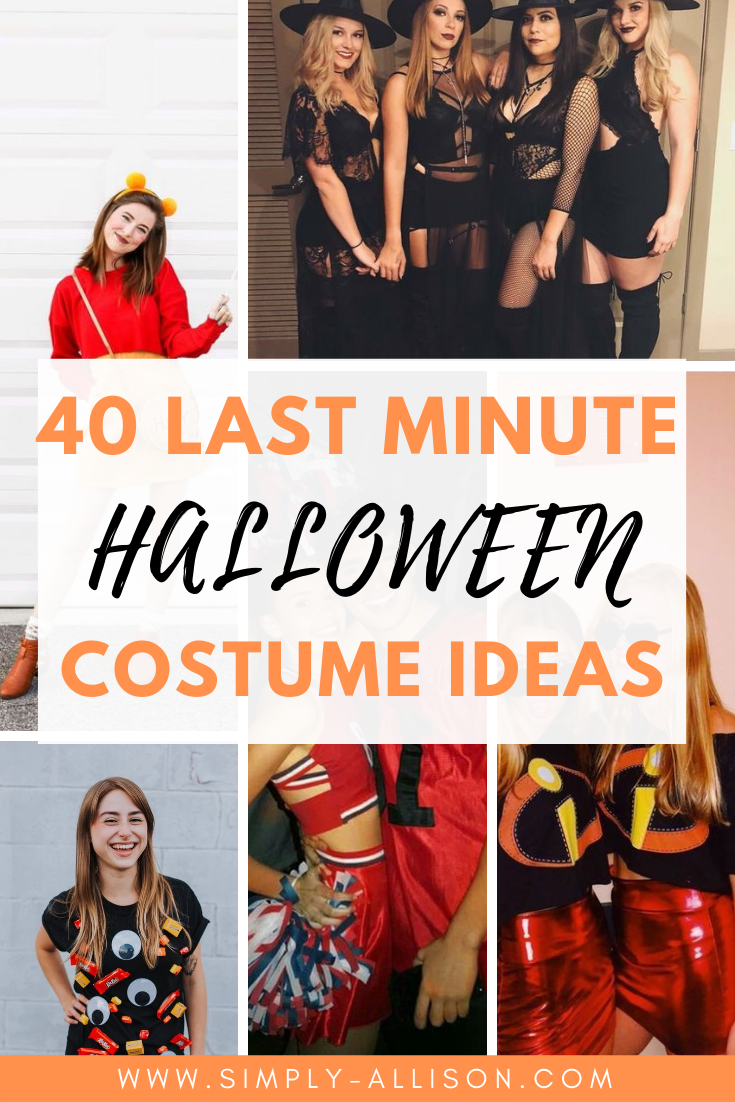 easy last minute halloween costume ideas