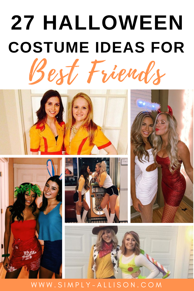 halloween costume ideas for best friends
