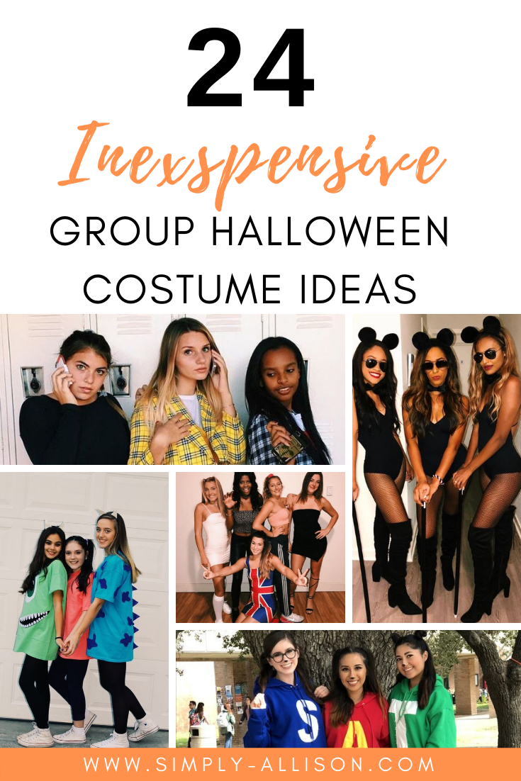 halloween group costume idea