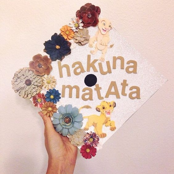 college graduation cap decoration disney