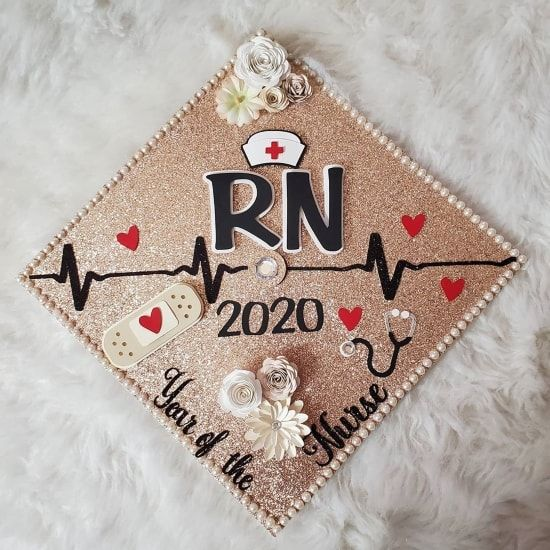 college graduation cap nursing