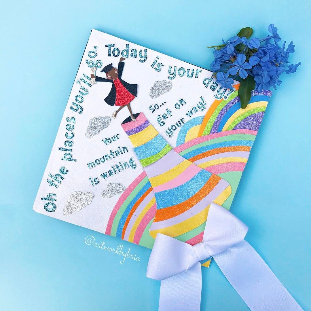 dr seuss grad cap ideas