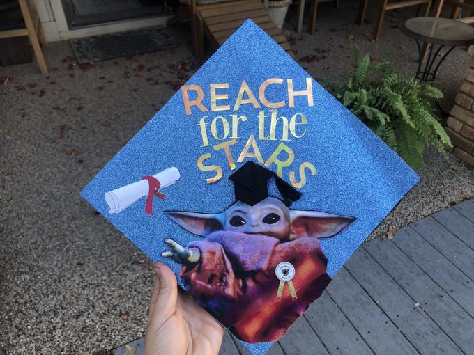 star wars graduation cap ideas