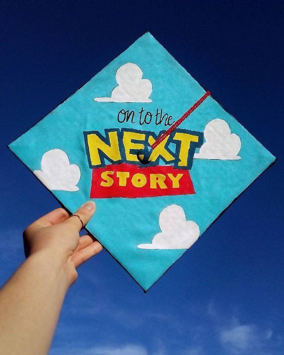 toy story graduation cap
