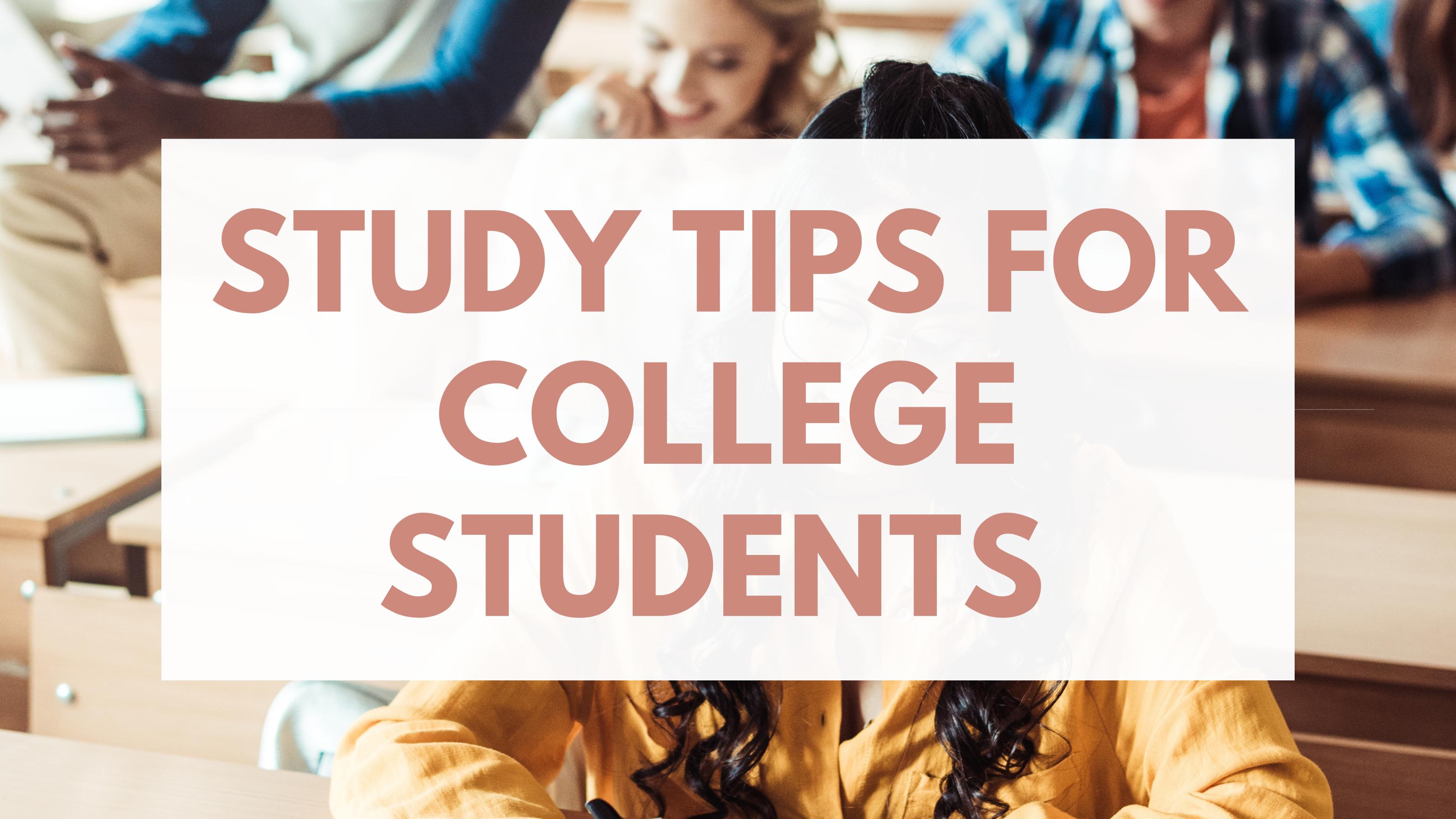 Lerntipps für College-Tipps